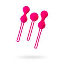 A-TOYS - gésagolyó - 3 db-os szett - pink