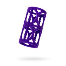 A-TOYS - péniszköpeny - 7,5 cm / 3,5 cm - lila