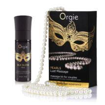 ORGIE Pearl Lust Massage 30 ml - gyöngy masszázs szett