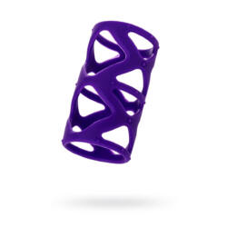 A-TOYS - péniszköpeny - 7,5 cm / 3,5 cm – lila