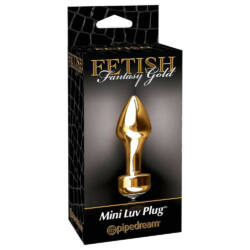 Pipedream - Fetish Fantasy Gold - Fetish Fantasy Gold Mini Luv Plug