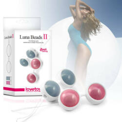 Lovetoy - Luna Beads II Pink