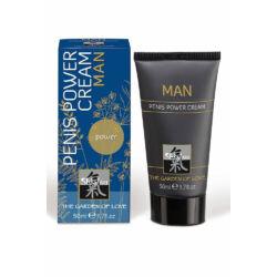 Shiatsu - Man Penis Power Cream 50 ml