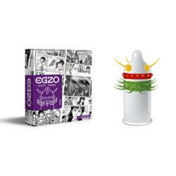 EGZO prémium óvszer lila - hard