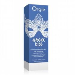 ORGIE Greek Kiss gél 50 ml  - anál síkosító melegítő hatású