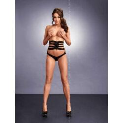 MeSeduce Valeria szexi tanga derékövvel, fekete L-XL