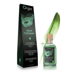 ORGIE Lips Massage Kit Apple - masszázs szett