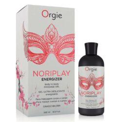 ORGIE Noriplay Energizer 500 ml - nuru masszázsolaj