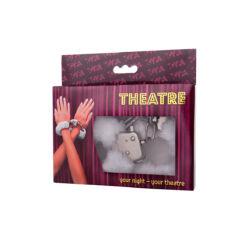 Theatre by Toyfa kézi bilincs fehér
