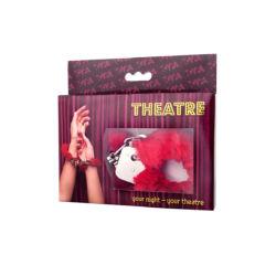 Theatre by Toyfa kézi bilincs piros