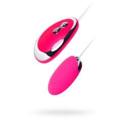 A-TOYS - vibroegg - távvezérléses vibrációs tojás - pink