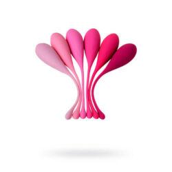 EROMANTICA K-ROSE - gésagolyó - 6 db-os szett - pink