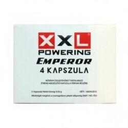 XXL Powering Emperor potencianövelő kapszula férfiaknak 4db-os