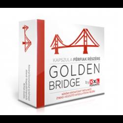 GOLDEN BRIDGE BY XXL POWERING - potencianövelő kapszula férfiaknak - 4db-os