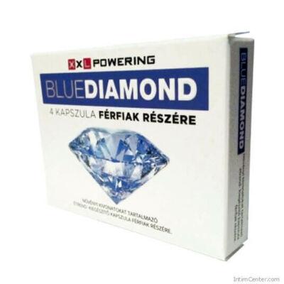 XXL Powering Blue Diamond potencianövelő 4db-os kapszula férfiaknak