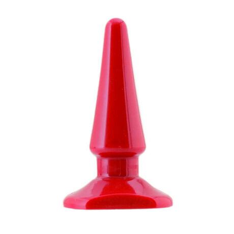 BLACK&RED - anális izgató - 10.0 cm / 3.0 cm - piros