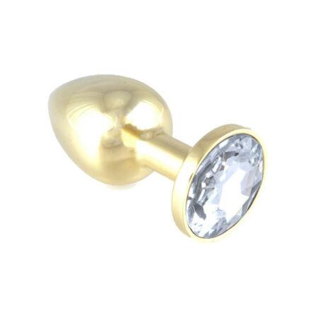 Rimba - Butt Plug Metal With Crystal