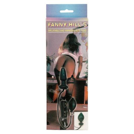 Seven Creations - Fanny Hills Black Butt Plug