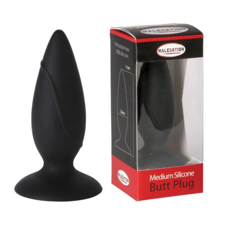 Malesation - Malesation Silicone Plug Medium