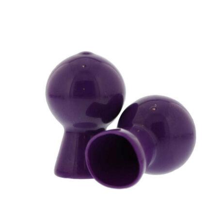 Nmc - Nipple Sucker Pair in Shiny Purple