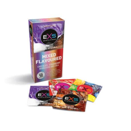 EXS Flavoured  12db óvszer - ízesített