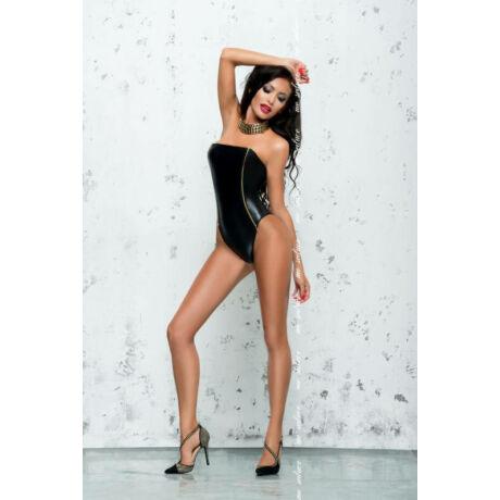 MeSeduce Fanny szexi body, fekete L-XL