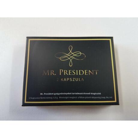 Mr. President potencianövelő 2db-os kapszula férfiaknak