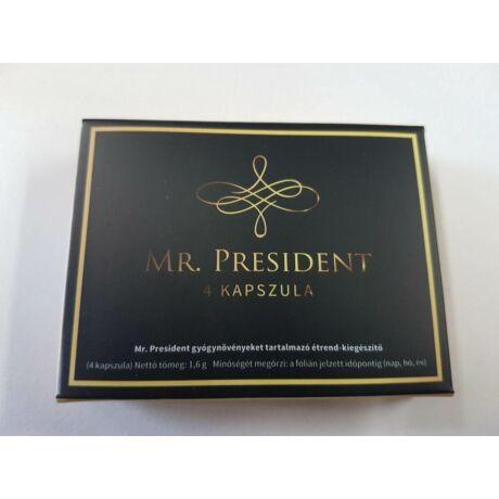 Mr. President potencianövelő 4db-os kapszula férfiaknak