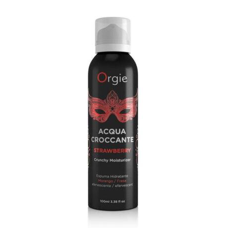 ORGIE Acqua Crocante Strawberry - masszázshab