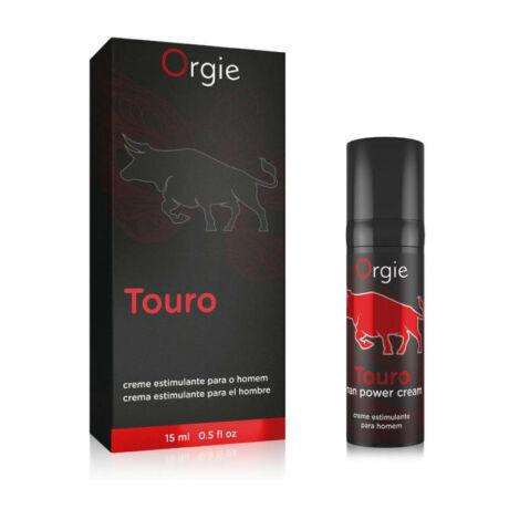 ORGIE Touro Men Power Cream 15 ml - potencianövelő gél