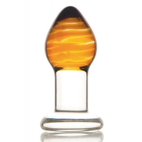Sexus Glass Anális izgató, misztikus arany színű kúp alakú üveg